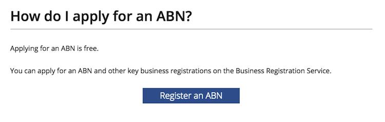 Apply for ABN Australia