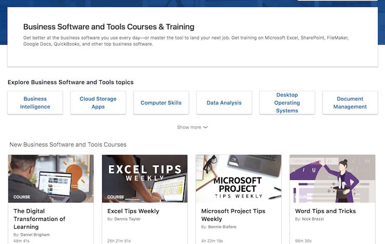 Business Software Tools Linkedin