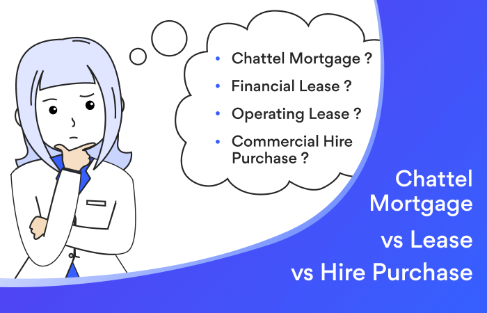 Chattel vs Lease vs CHP